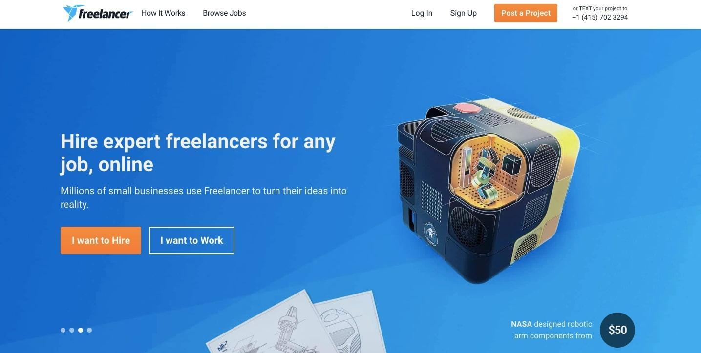 find freelance work on freelancer.com