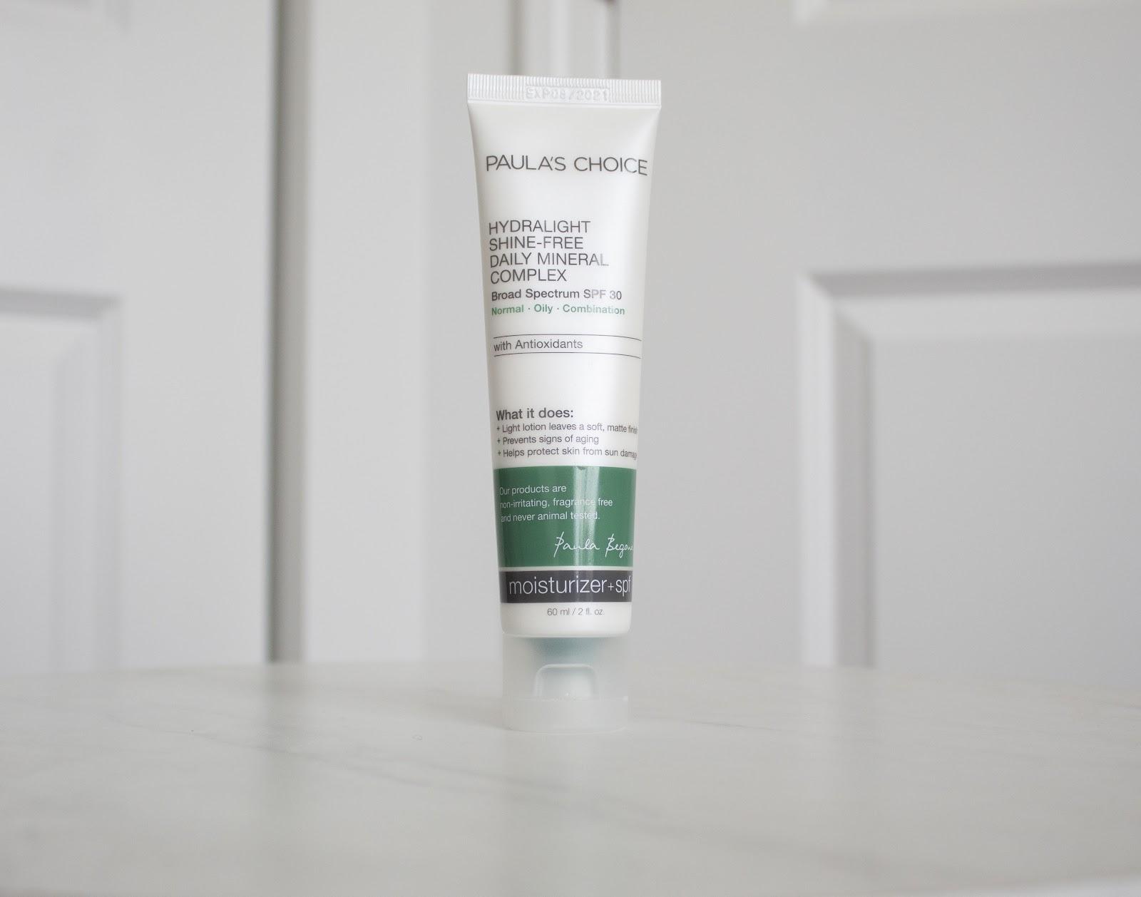 Paula's Choice Hydralight Mineral Sunscreen Patience & Pearls