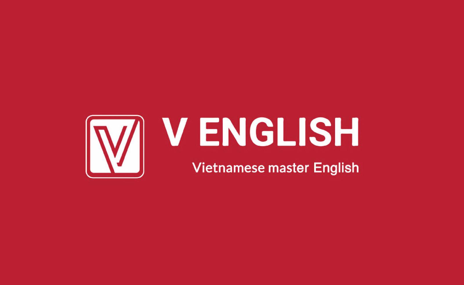logo ngang V English