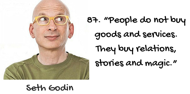 Seth Godins Quote on Storytelling