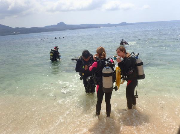 開放水域岸潛潛水體驗(無須證照)
