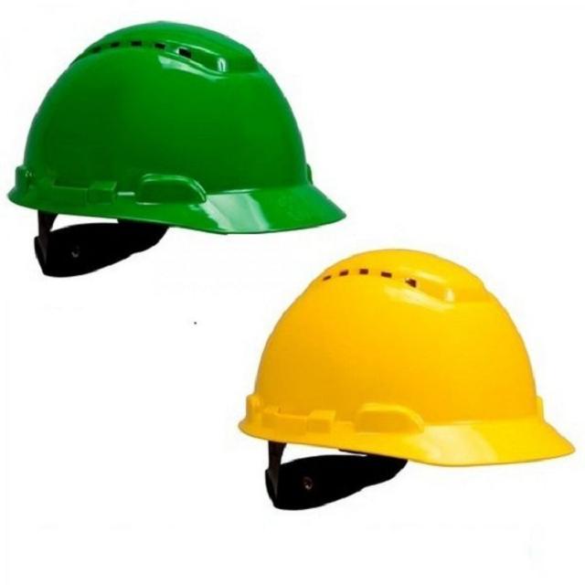 Nón bảo hộ lao động giúp công nhân viên tránh được những va đập từ tác động bên ngoài môi trường