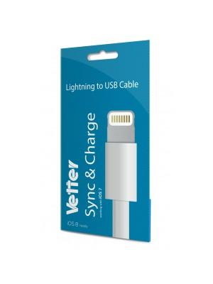 iPhone 6, 5s, 5c, 5 | Lightning cable | IOS 8 | Vetter Blister