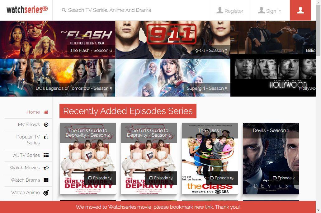 Watch Series CouchTuner alternative