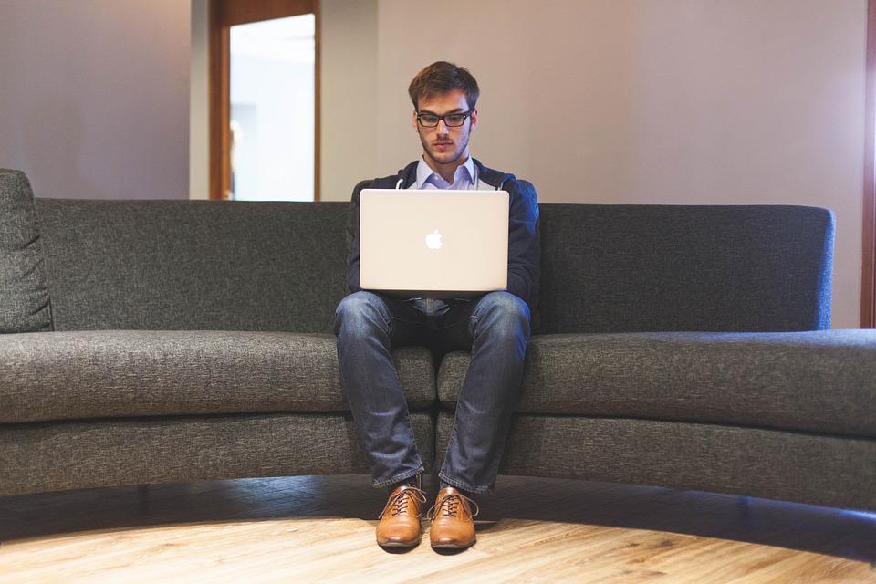 起業家, スタートアップ, 起動, 男, 計画, ビジネス, オフィス, 実業家, 人, 若いです, 企業