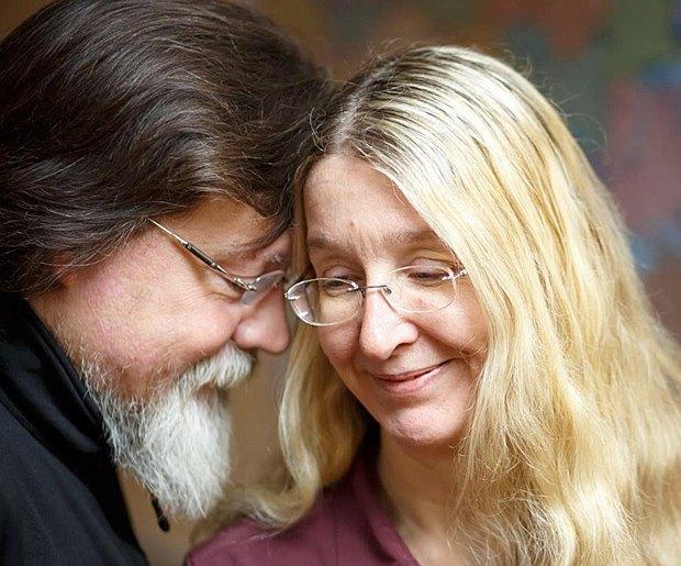Уляна Супрун з чоловіком Марком