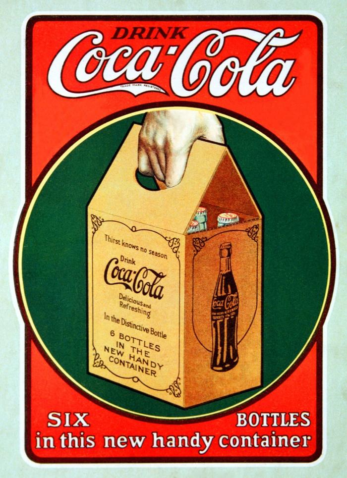 бутылки кока-колы