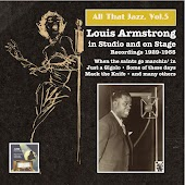 All that Jazz, Vol.5 – Louis Armstrong in Studio and on Stage