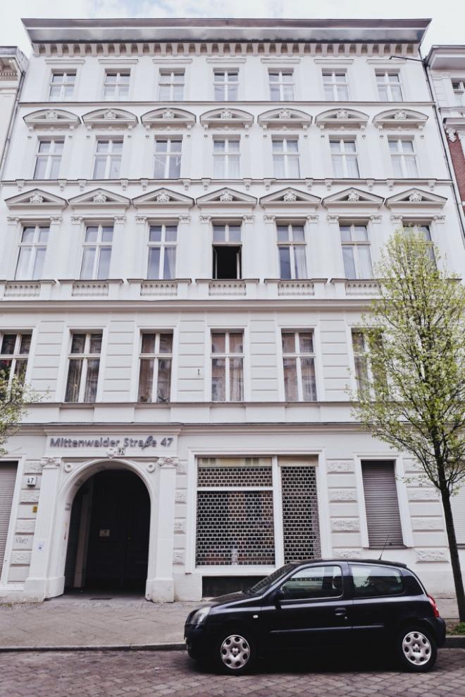Сучасний вигляд будинку у якому мешкав Семен Лощенко в Берліні