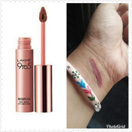 Shopping, Style and Us: India's Best Shopping and Self-Help Blog -   5. Lakme 9 to 5 Weightless Mousse Lip & Cheek Color-Coffee Lite among our other best nude lipsticks of 2018
