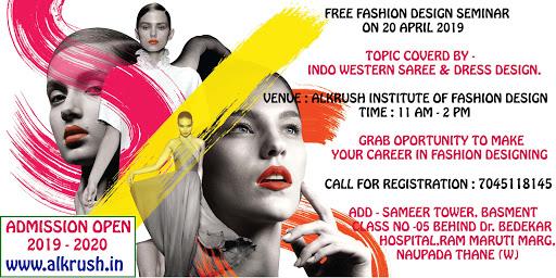 Alkrush Institute Of Fashion Design Fashion Designer In Thane