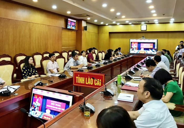 Phân hiệu Đại học Thái Nguyên tại Lào Cai  tham dự Hội nghị trực tuyến báo cáo viên toàn quốc tháng 7 năm 2020
