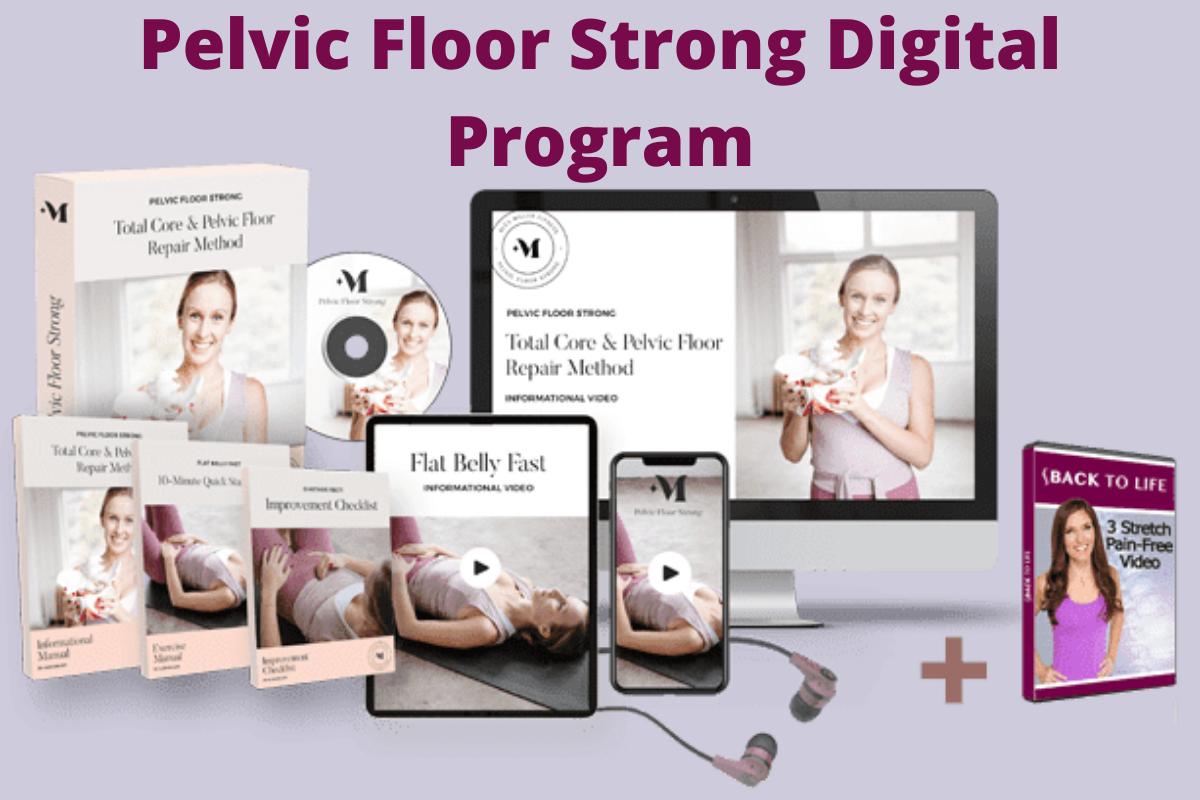 Pelvic Floor Strong Exercises Digital Program