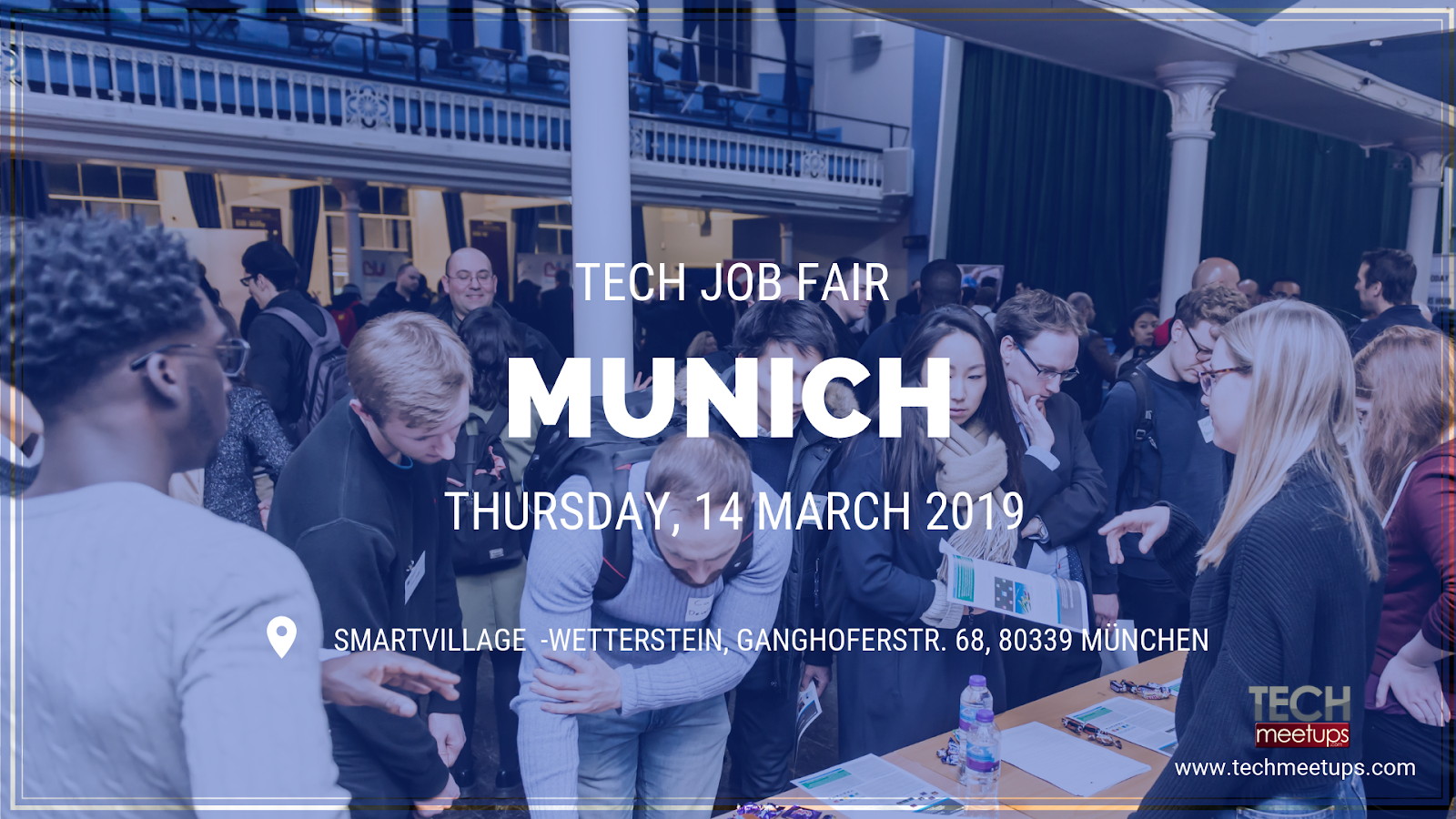 join munich tech job fair