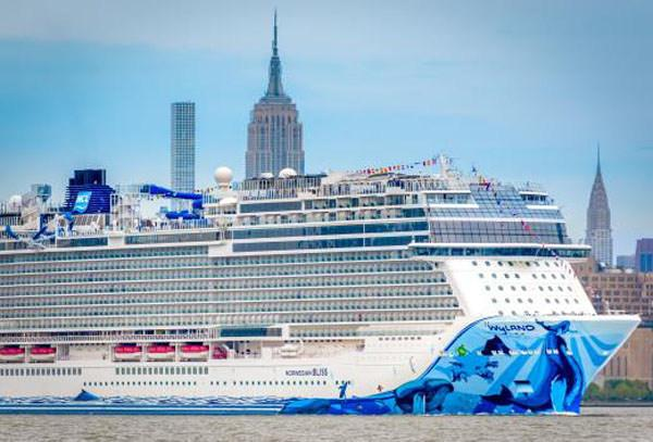Norwegian Bliss debut in New York City | Hotelier International