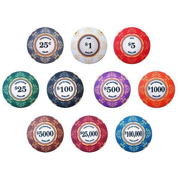 Phỉnh poker được làm bằng nhiều loại vậy liệu khác nhau