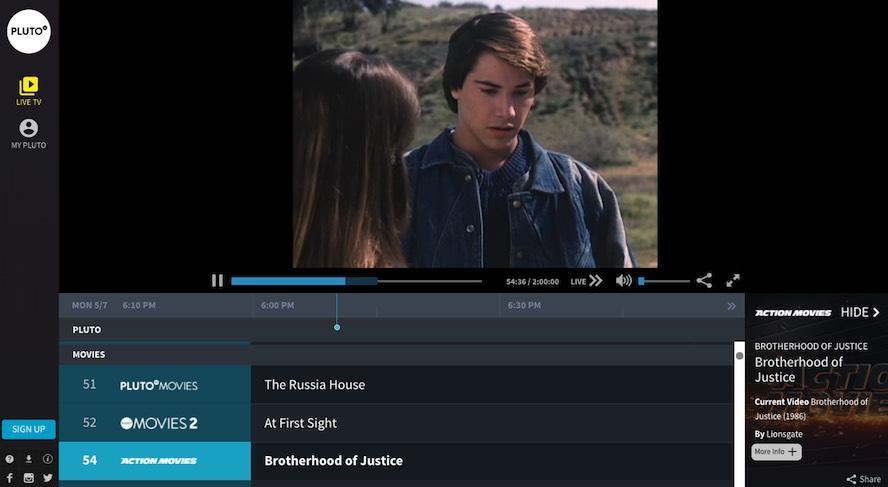 free movies online pluto tv