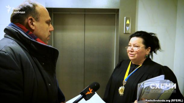 Із журналістом Радіо Свобода суддя Олена Мазурик спілкувалася неохоче