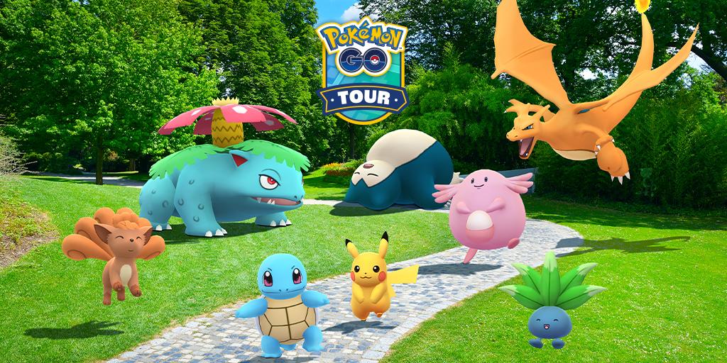Pokémon GO entrenadores