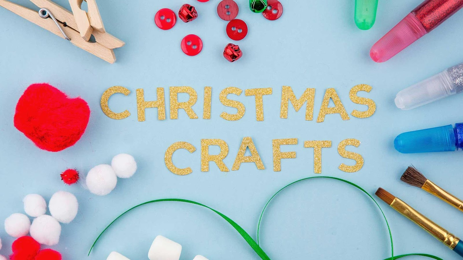 Christmas Crafts for Kids Header