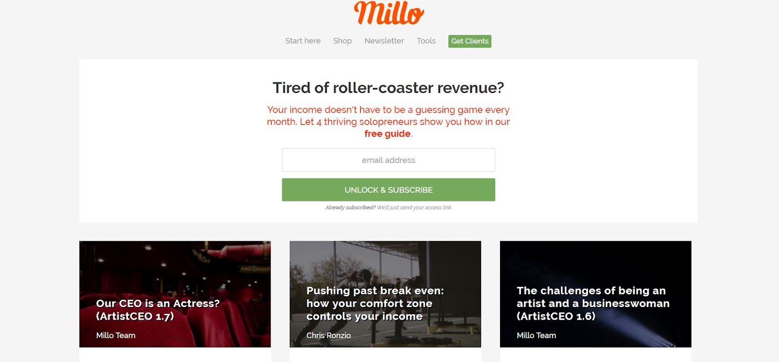 Millo - Top Graphic Design Blogs