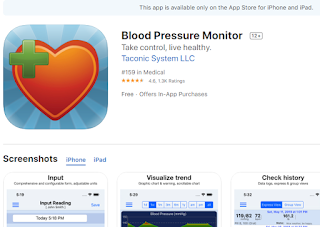 apps to measure blood pressure