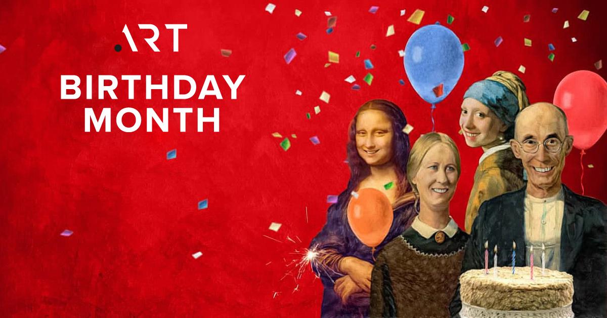 день рождения доменной зоны