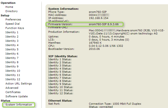 Manually Upgrade the Firmware of your snom IP phone