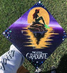 """A graduation cap that reads """"The little graduate"""""""