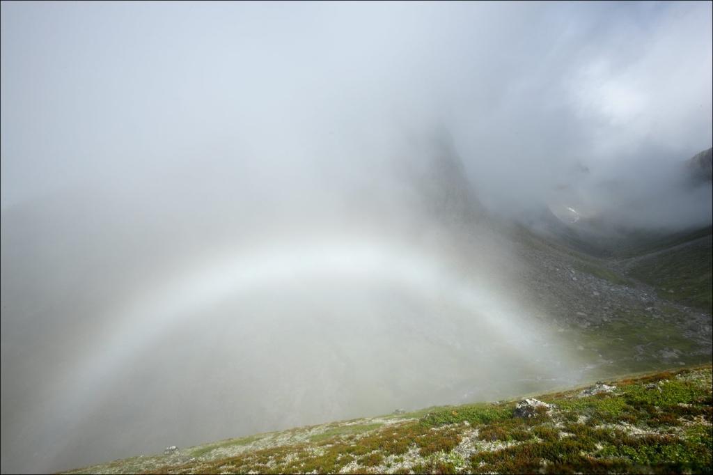Белая радуга - редкое природное явление