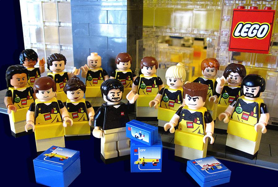 Lego toys uniform