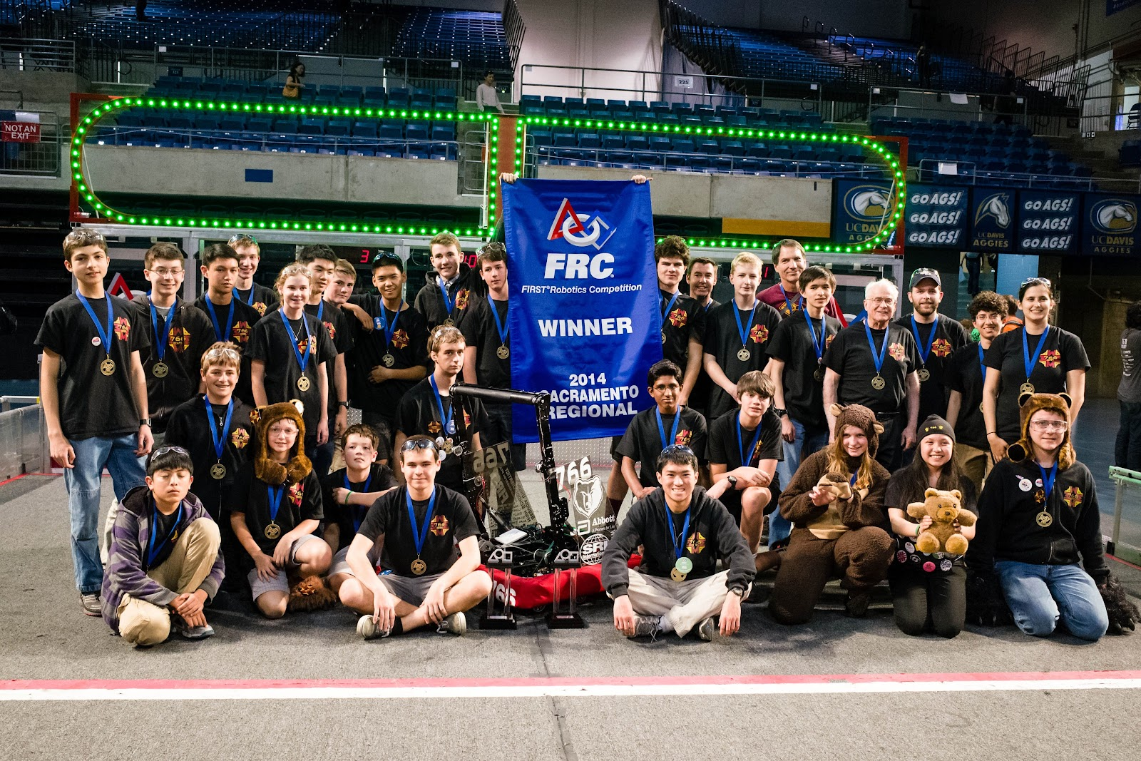2014 MA Robotics Team in Davis.jpg