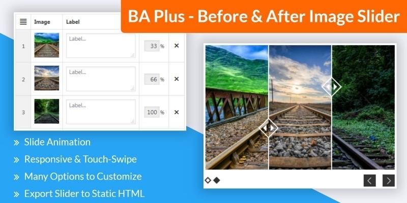 BA Plus - Before & After Image Slider