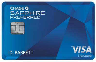 Chase Travel Reward Credit Card
