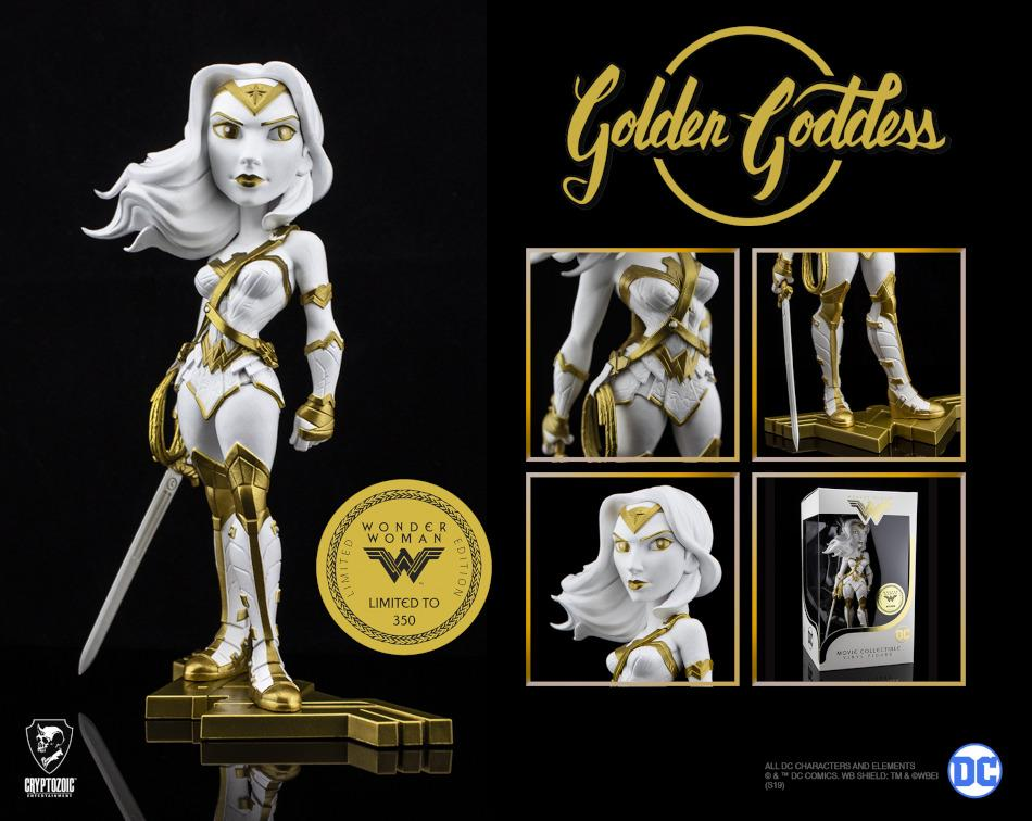 Golden Goddess Wonder Woman Movie Collectible