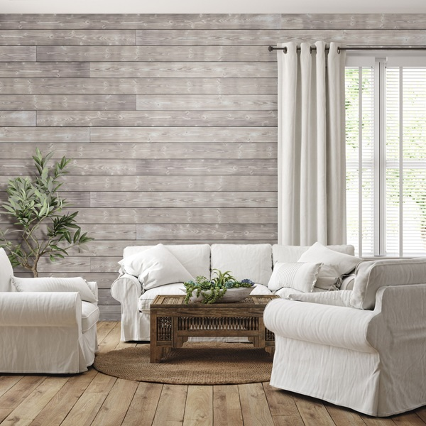 Add Shiplap Wall Panelling For a Nautical Look large wall decor ideas