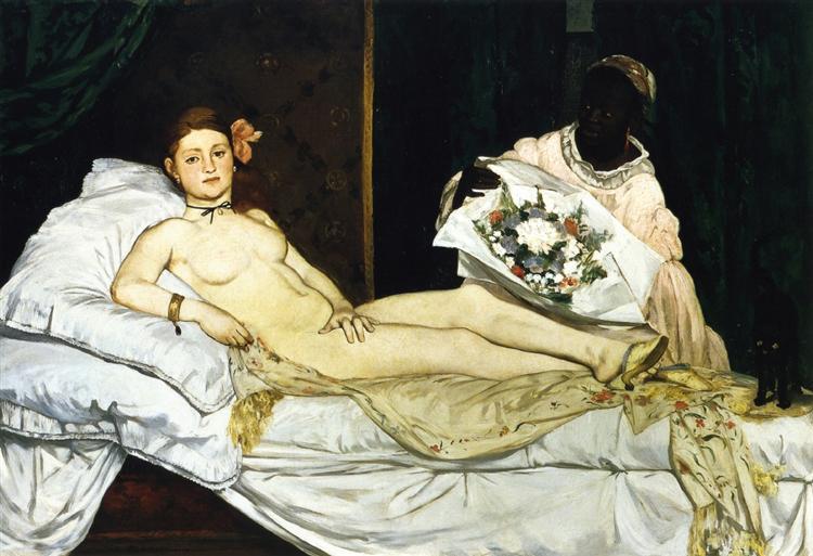 Olympia, 1863 - Edouard Manet