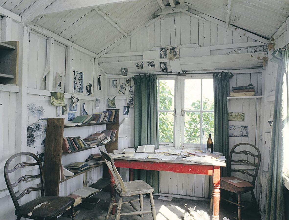 Entre as casas de escritores, esta do Dylan Thomas certamente chama a atenção!