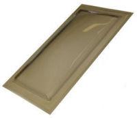 "Sun-Tek® SFMH 14"" x 46"" Tinted Polycarbonate Surface Mount Skylight"