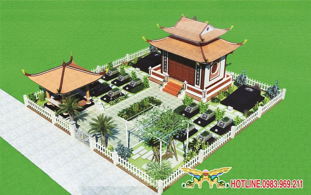 Đồi Kim - Khu đồi đầu tiên của công viên nghĩa trang Lạc Hồng Viên