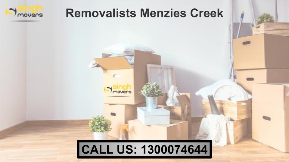 Removalists Menzies Creek