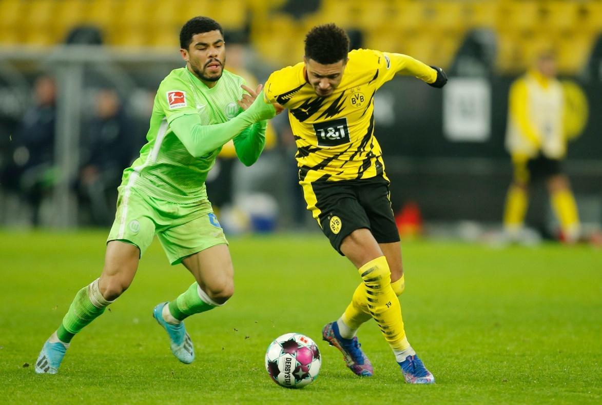 Wolfsburg đã để thua Borussia Dortmund 0-2 ở trận lượt đi