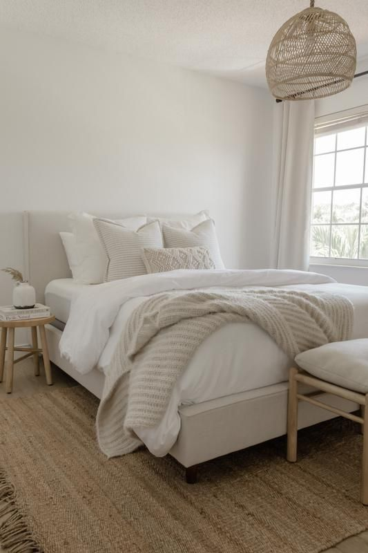 Sand Covers Your Small Master Bedroom