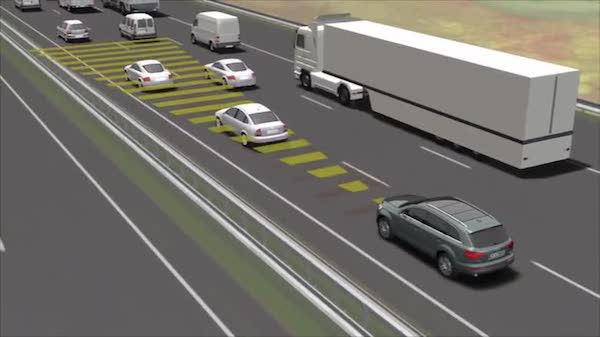 ขับในเส้นทางยาวๆ เทคโนโลยี Adaptive Cruise Control  จะช่วยลดความเมื่อยล้า