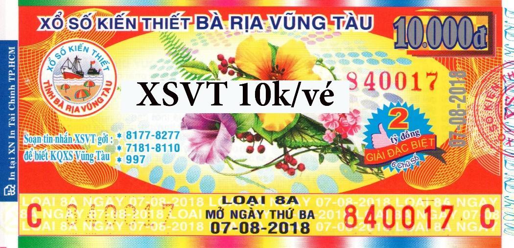 Vé số XSVT