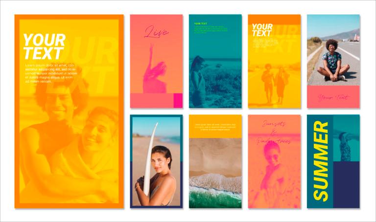Summer Instagram Stories Templates