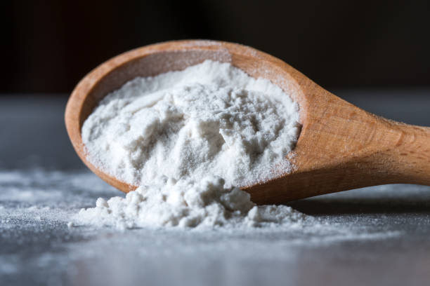 Arrowroot powder is high in calcium content which can be used in thickening  as a substitute for cornstarch.