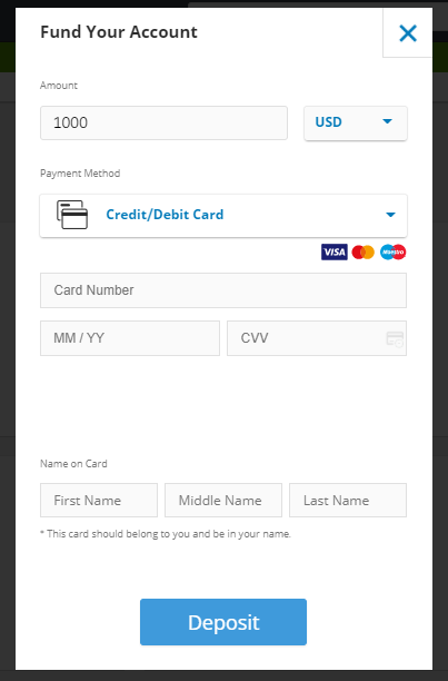 etoro broker minimum deposit