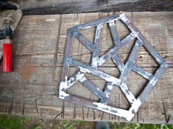 Барный стул из металла своими руками