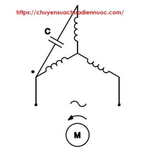 Cách đấu nối điện 3 pha thành 1 pha hình sao